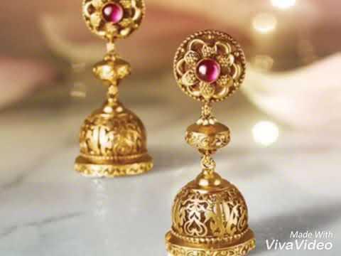Top Gold, Diamond, Ruby, Emerald Jhumkas ( Butalu)