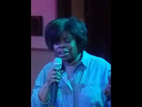 Betsy sings Come See About Me at Sharon's Lounge. karaoke Dance Party!!