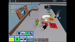 Roblox High School with Wiz and Moon