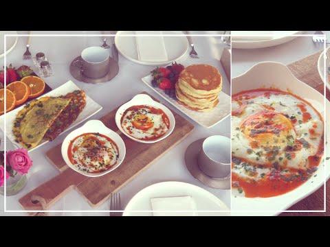 brunch-du-dimanche-|-oeufs-à-la-turque-et-pancakes-suuuuuuuper-moelleux-☕️🥘🥗