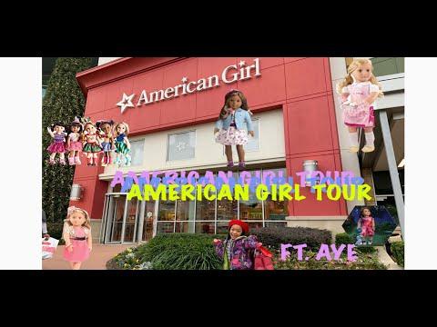 Aye's Trip To The American Girl Store | American Girl Tour- Houston