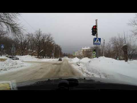 Дорога через Шиханы (Вольск-17) (ул.Ленина - ул. Школьная), Саратовская обл., 1 марта 2019 г.