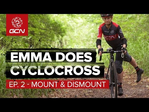 How To Get On   Off A Moving Cyclocross Bike  5d1ea3588