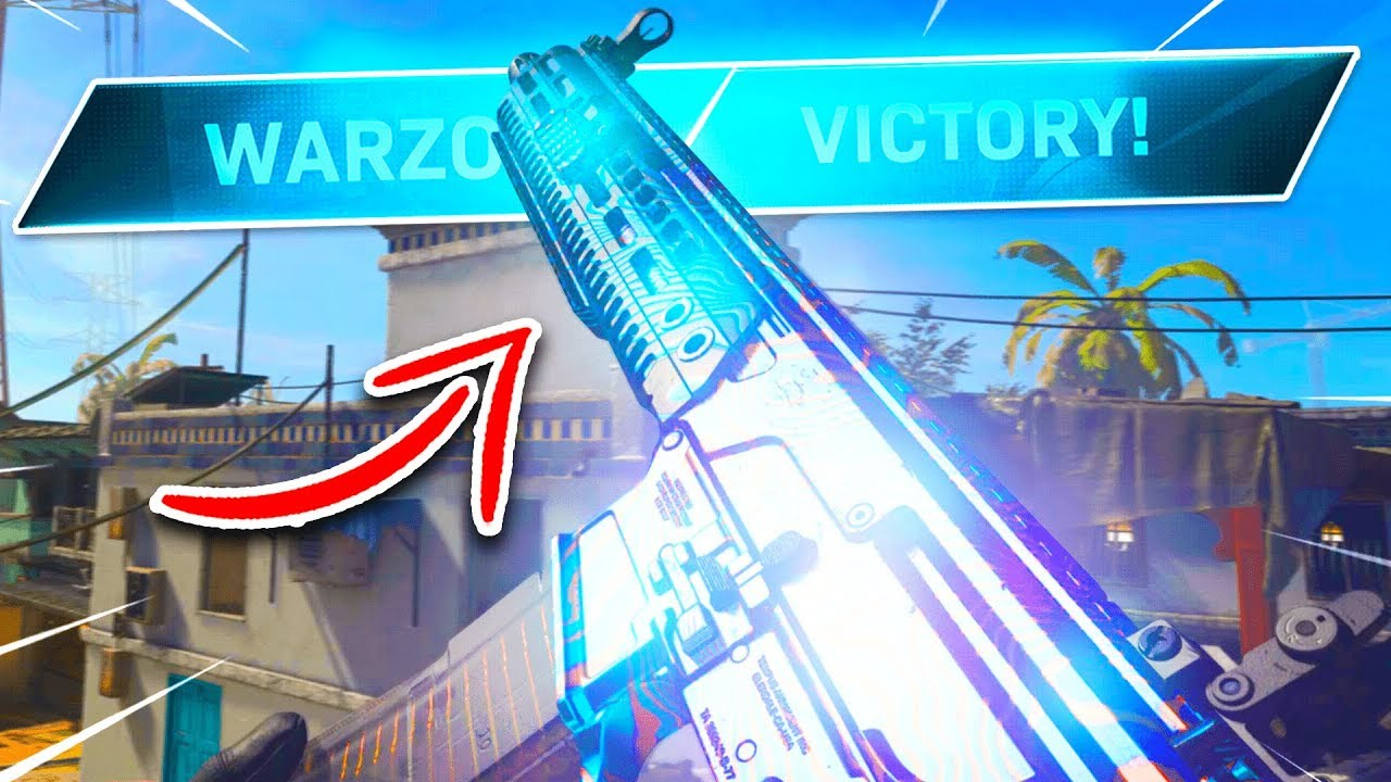 It's BASICALLY a Laser Beam...? (Best M13 CLASS SETUP In WARZONE after Update 1.20) - COD MW