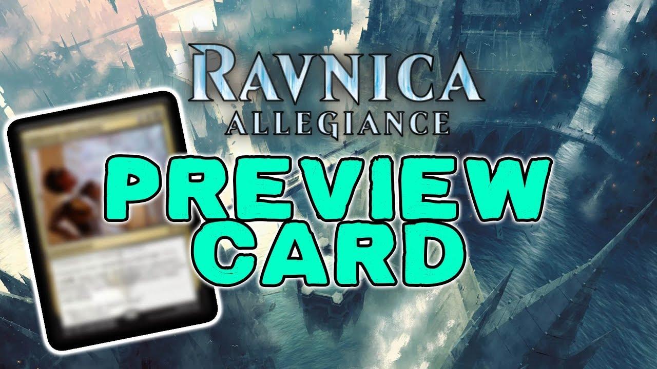 EXCLUSIVE* Ravnica Allegiance Preview Card: Ethereal
