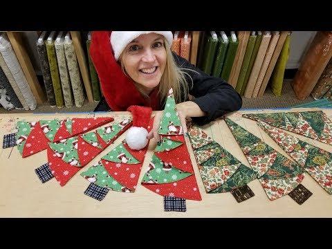 Christmas Tree Napkin Fold - YouTube | 360x480