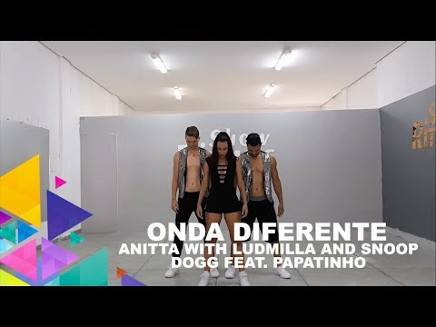 Onda Diferente - Anitta with Ludmilla and Snoop Dogg feat Papatinho - Coreografia