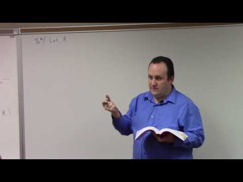 Abstract Algebra II: existence theorems of module over PID, 4-3-17 (no sound)