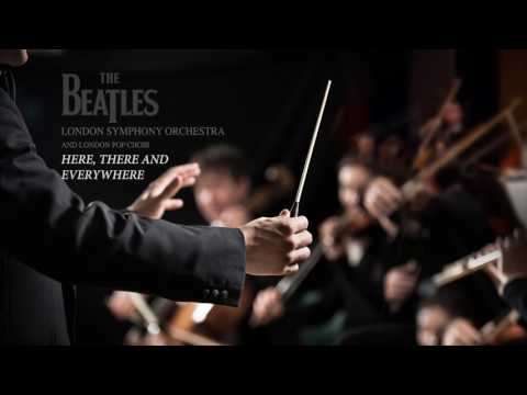 The Beatles 🎸 London Symphony Orchestra ♫ Here There And Everywhere ♫ HD/HQ