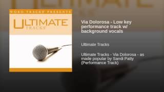 Via Dolorosa - Low key performance track w/ background vocals