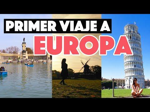 Primer viaje a Europa: 10 cosas básicas