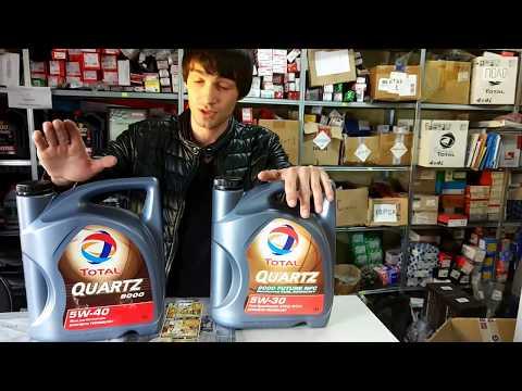 """Разоблачение поддельного масло """"Total Quartz"""". Оригинал и подделка."""