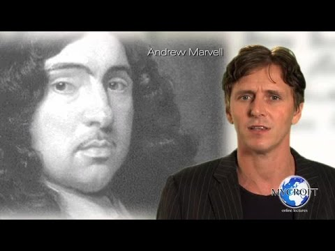 Andrew Marvell - To His Coy Mistress - Poetry Lecture and Analysis by Dr. Andrew Barker
