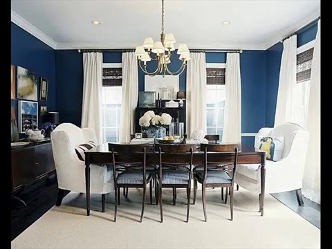 luxury navy blue dining room table and chairs decorating ...