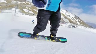 Snowboarding & Skiing at Coronet Peak & Remarkables, New Zealand (GoPro)