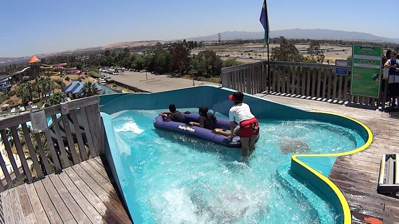 Barracuda Blaster Water Slide at Raging Waters San Jose ...