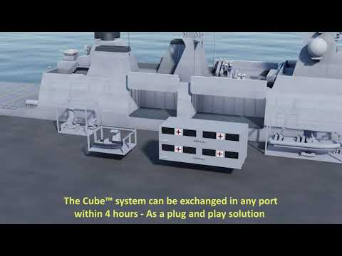 The Cube™ Multipurpose module for Naval vessels