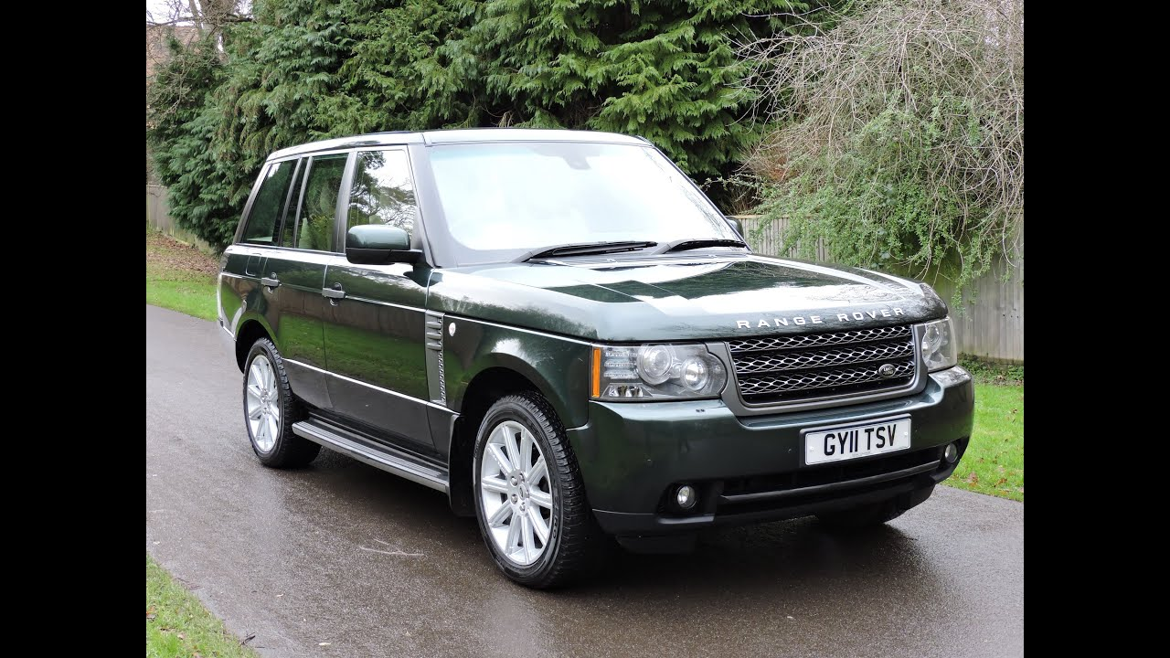 landrover range rover 4 4 tdv8 vogue se walkaround youtube. Black Bedroom Furniture Sets. Home Design Ideas