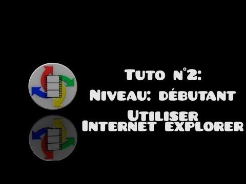 Apprenons à utiliser internet explorer