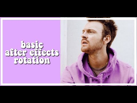 ✧after effects | smooth rotation tutorial