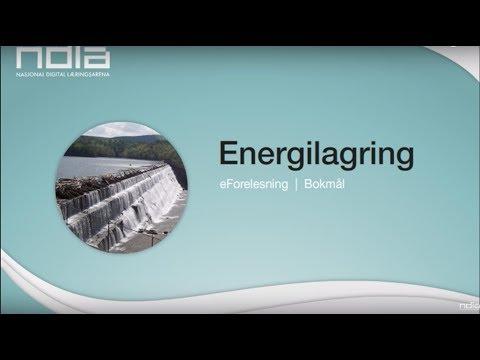 Energilagring