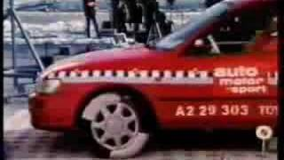 Toyota Corolla auto motor und sport ams crash test.avi