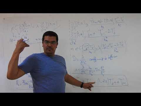 Schéma numérique par différences finies de l'équation de la chaleur (2ème partie)