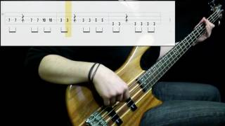 Zox - A Little More Time (Bass Cover) (Play Along Tabs In Video)