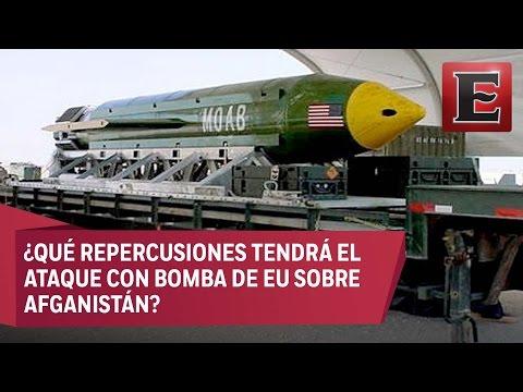 EU lanza bomba no nuclear sobre Afganistán