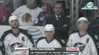 John Davidson discusses Blue Jackets coaching change