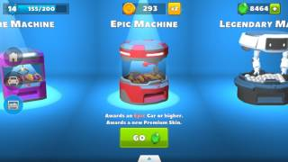 Crash of cars 8704 gems on epic machine!!!!