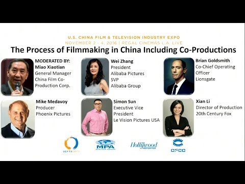 The Process of Filmmaking in China Panel
