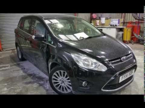 New Ford C max a pillar damage repair