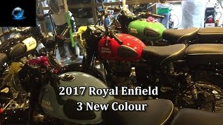 new colours 2017 for royal enfield bs4   bullet   redditch royal enfield
