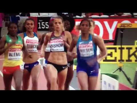 800m Women Semifinal 1 IAAF World Champs London 2017