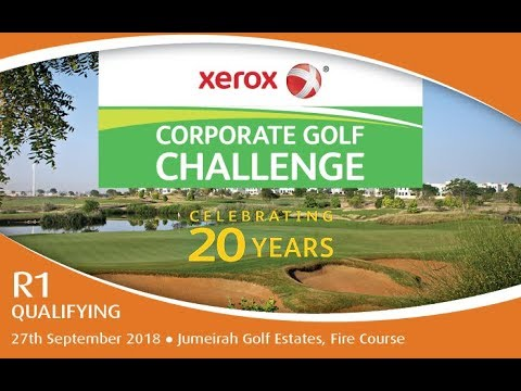 2018 Xerox Corporate Golf Challenge - Jumeirah Golf Estates