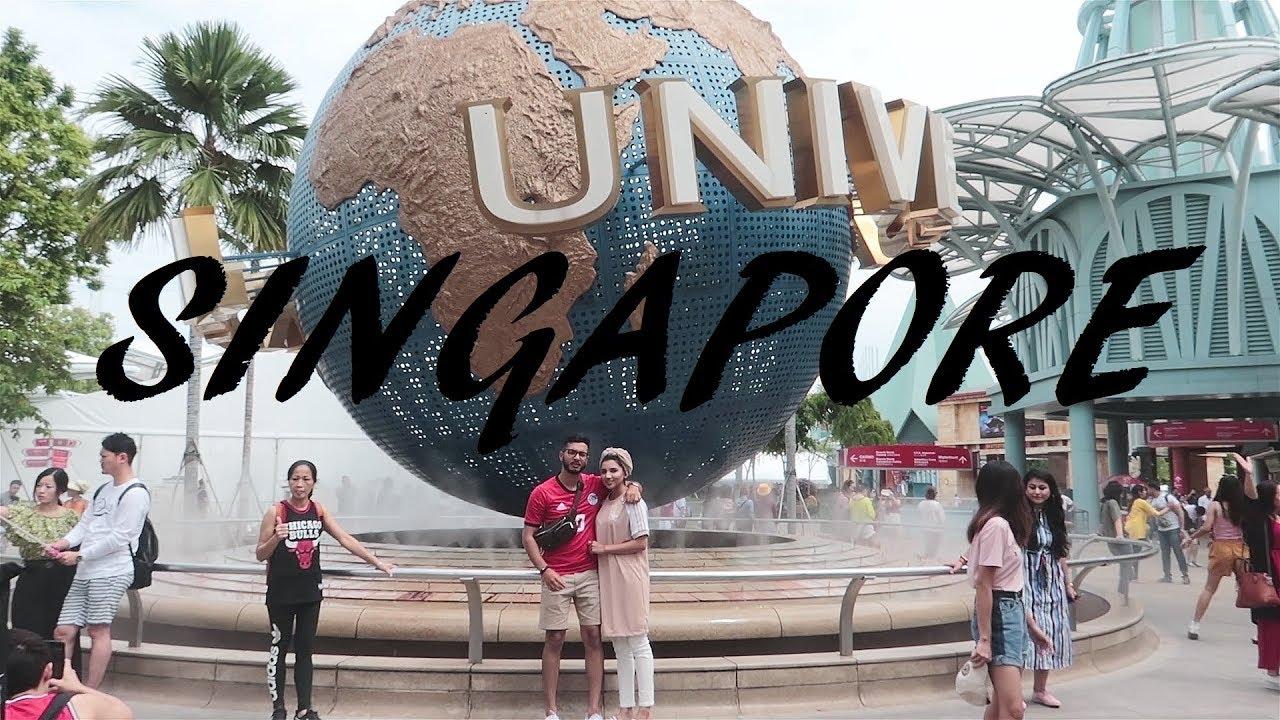 Singapore Vlog   Universal Studios
