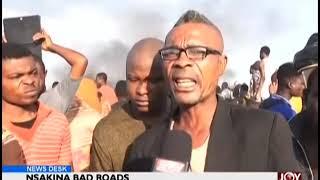 Nsakina Bad Roads - News Desk on JoyNews (15-10-18)