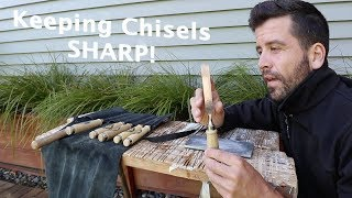 CHISELS! & How I Sharpen Them