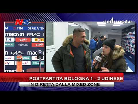 POST PARTITA BOLOGNA - UDINESE