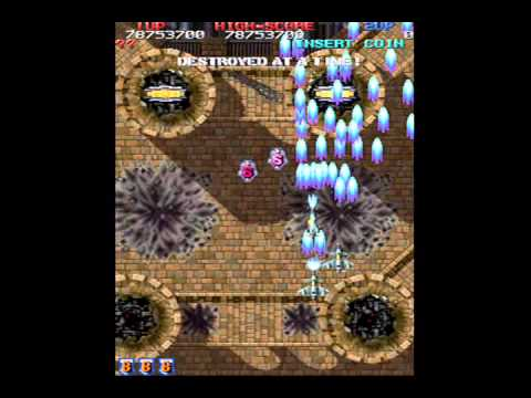 Raiden Fighters 2 - 1cc (100.3 million) with Hell Diver's Slave