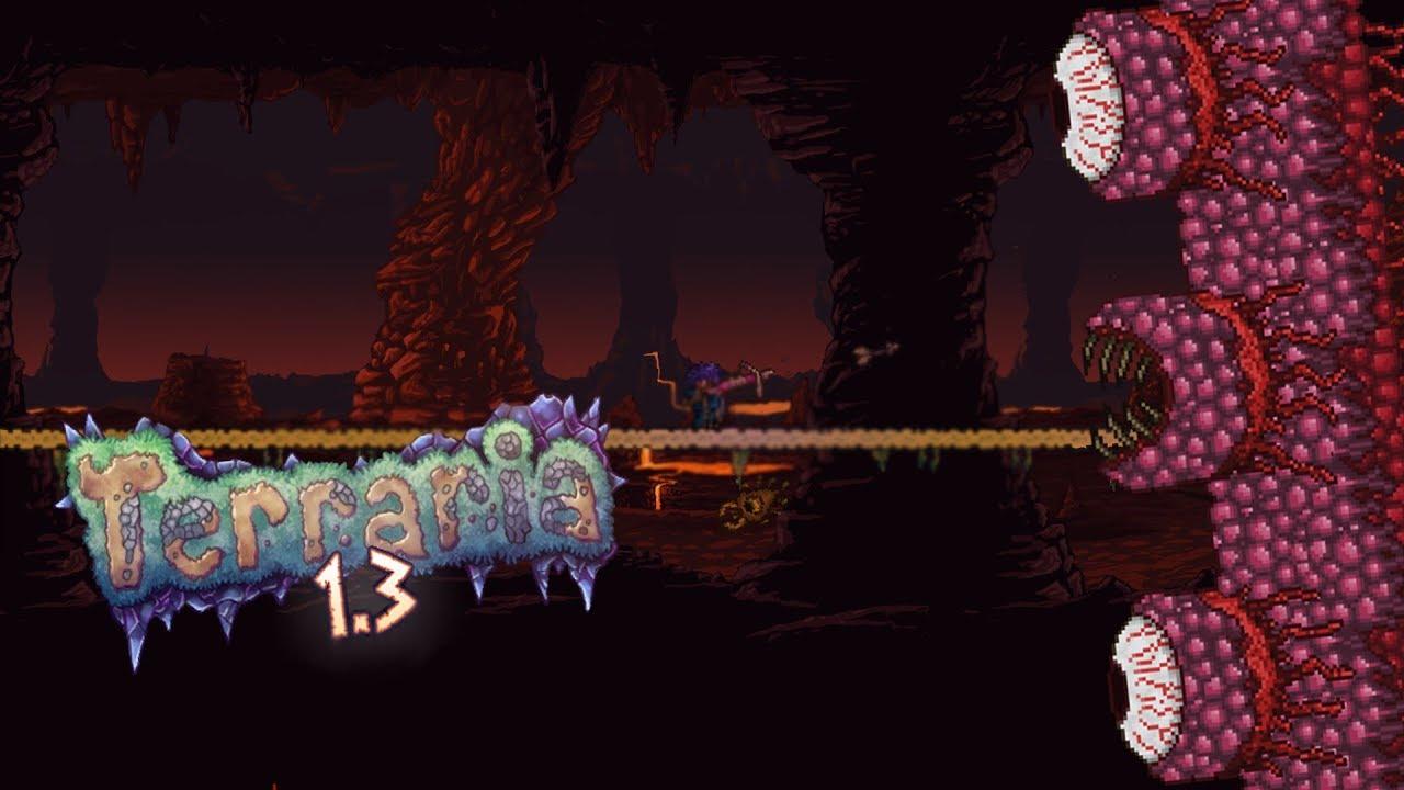 Wall of flesh! Terraria Ranger playthrough episode 9