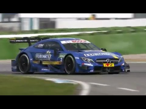 Mercedes AMG DTM Racing Footage And Driver Interviews