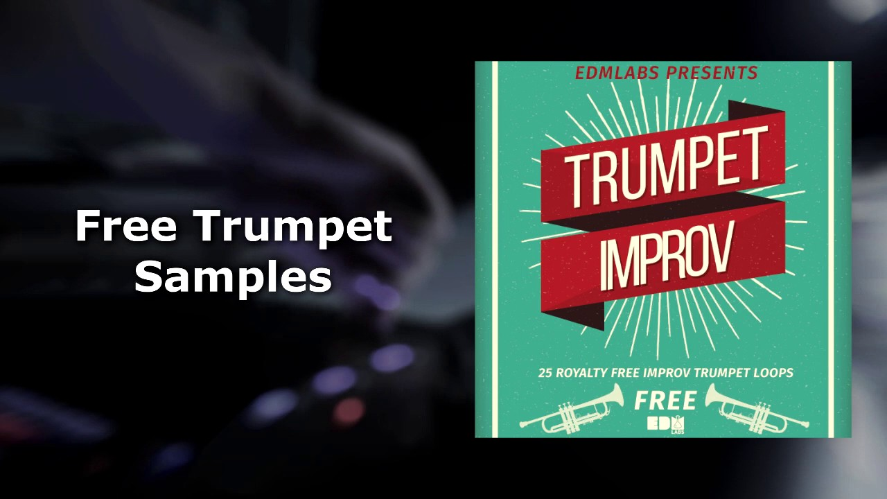 Free Trumpet Samples Pack - YouTube