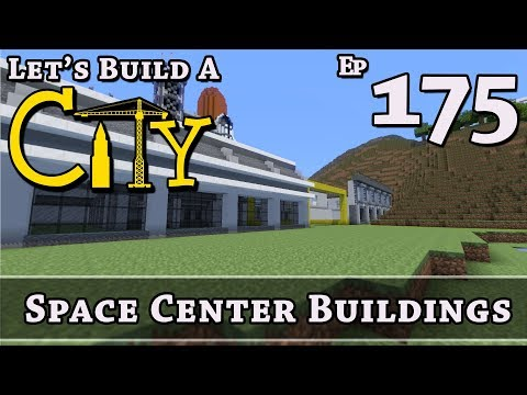 How To Build A City :: Minecraft :: Space Center Buildings :