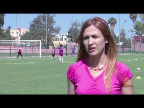 لقاء مع فدوى شرنان مدربة كرة القدم النسائية بالمغرب  - 16:23-2017 / 4 / 18