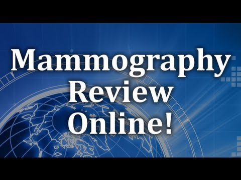 Mammography Certification Exam Hormone Therapy Review