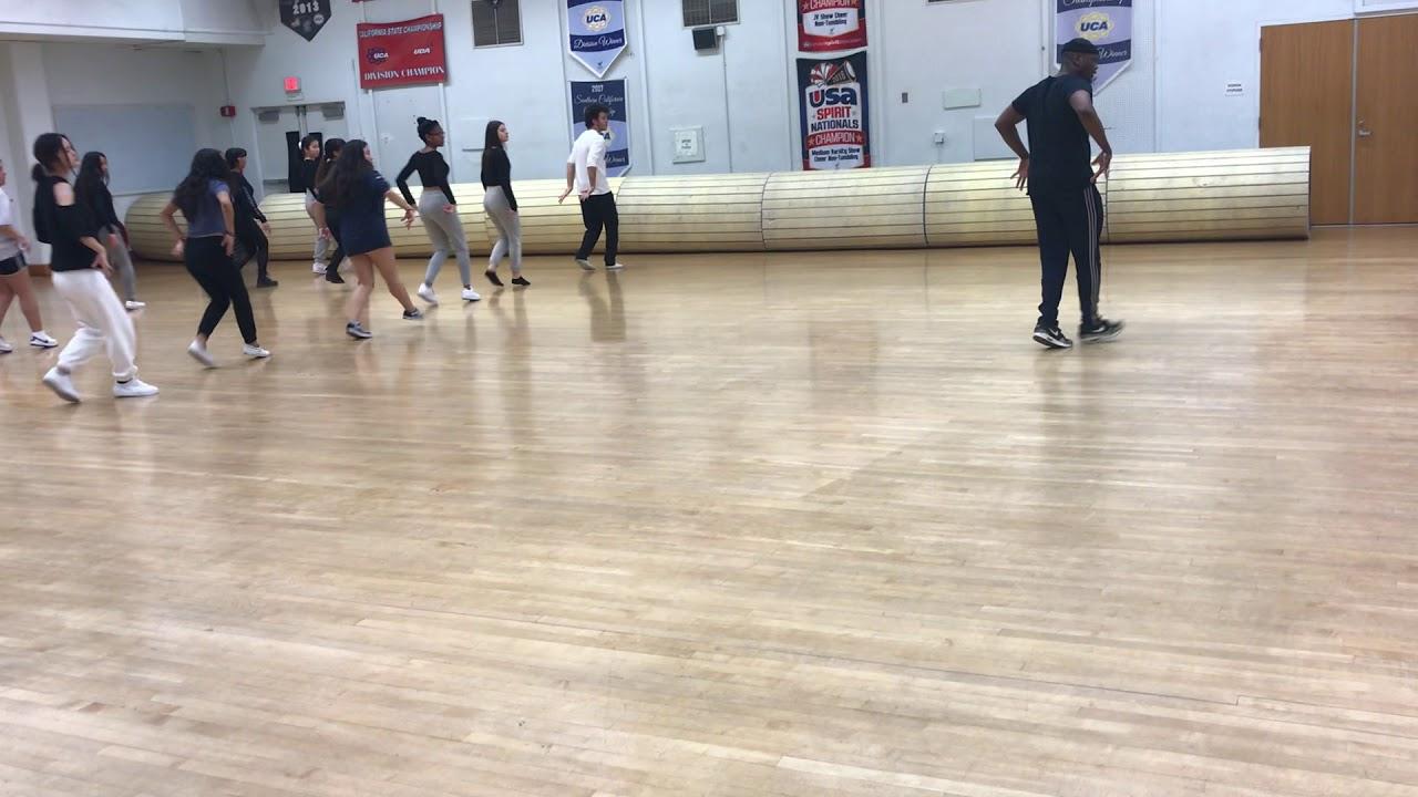 Santa Monica HS Hip Hop Rehearsal