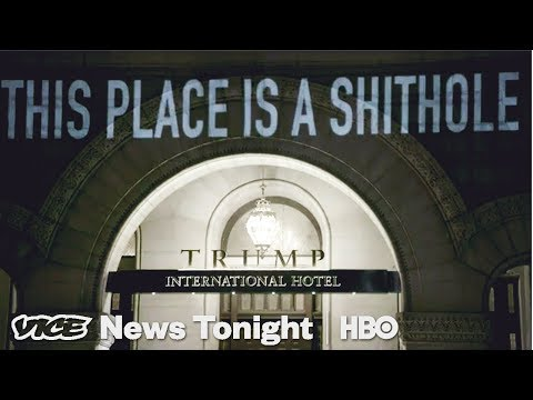 Anti-Trump Hotel & Police Podcasts: VICE News Tonight Full Episode (HBO)