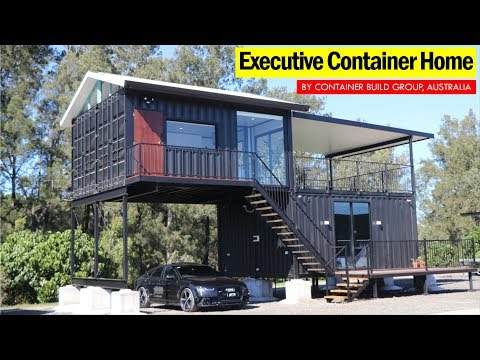 Executive Container Home by Container Build Group- Australia